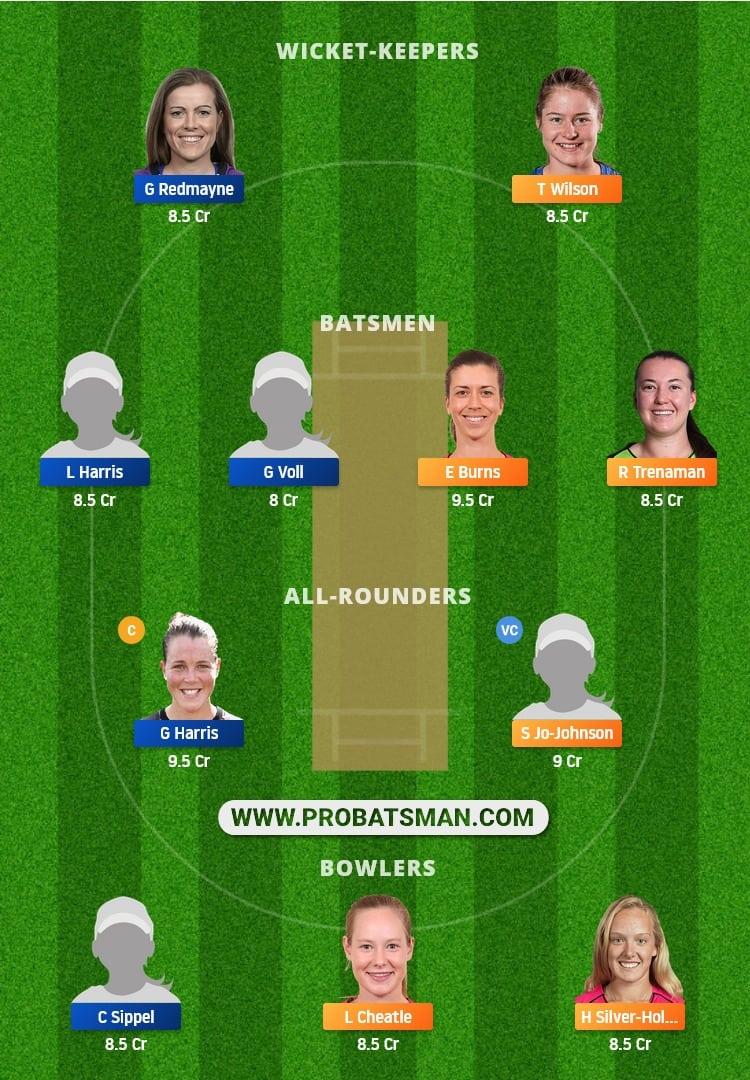 NSW-W vs QUN-W Dream11 Fantasy Team Prediction