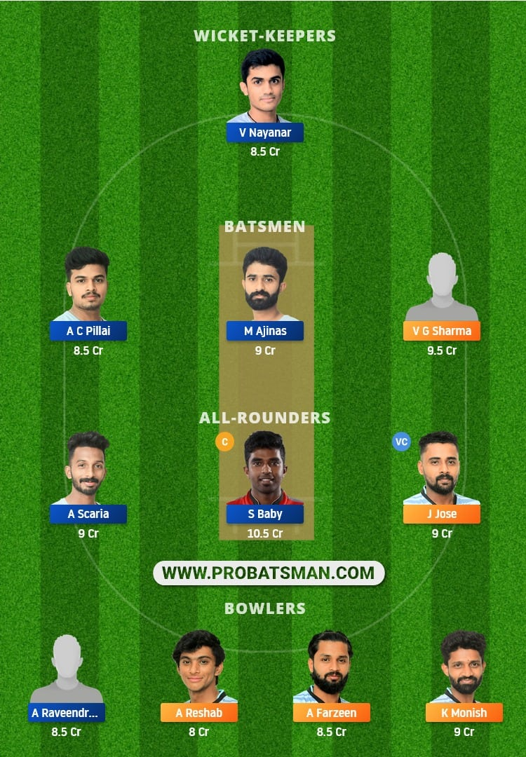TUS vs TIG Dream11 Prediction, Fantasy Cricket Tips: Playing XI, Prediction, Pitch Report and Updates, KCA President's Cup T20, 2021 - Match 29