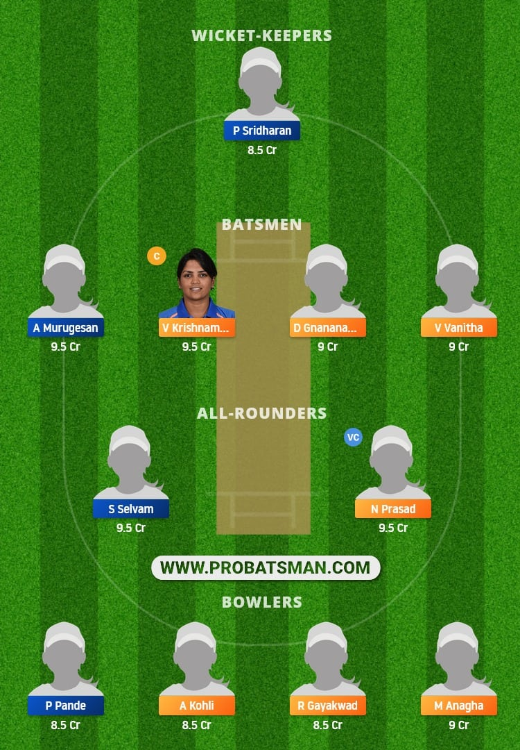 KAR-W vs TN-W Dream11 Fantasy Team Prediction
