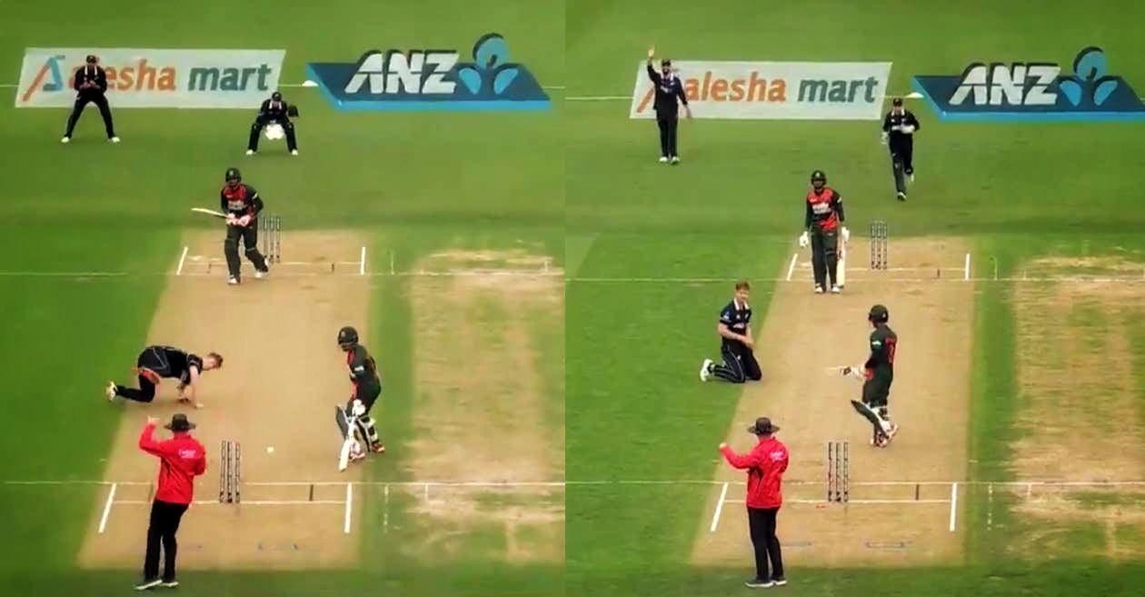 Watch: Losing a Wicket in The Most Unluckiest Manner