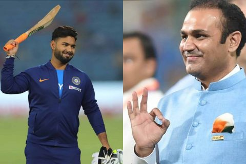 He Reminds Me of My Early Days: Virender Sehwag on Rishabh Pant