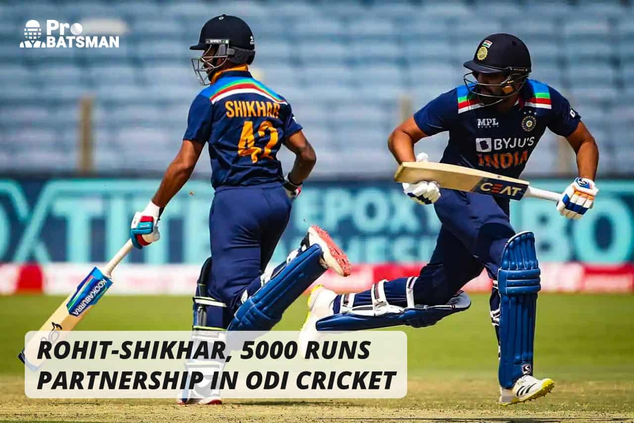 IND vs ENG: Rohit-Shikhar, Second Pair With 5,000 Partnership Runs in ODI Cricket