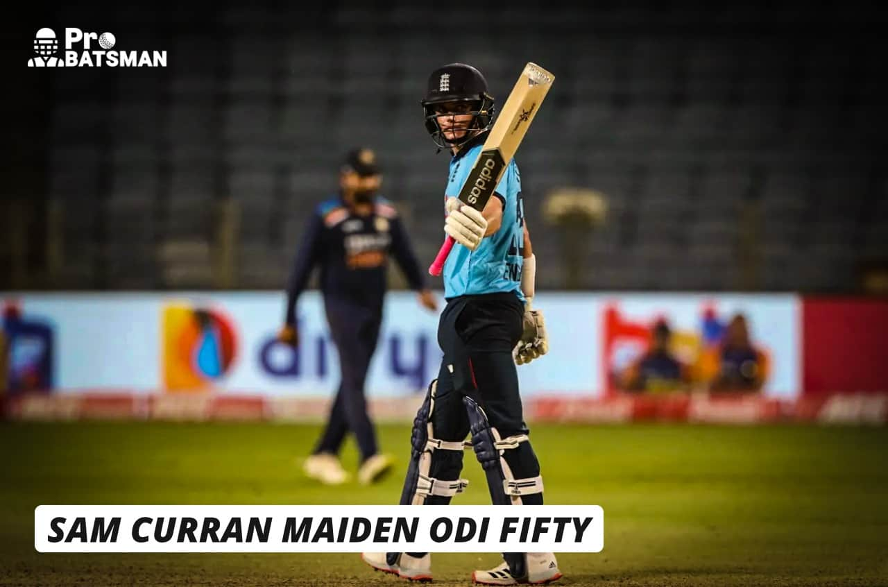 IND vs ENG: Sam Curran Hits His Maiden ODI Fifty