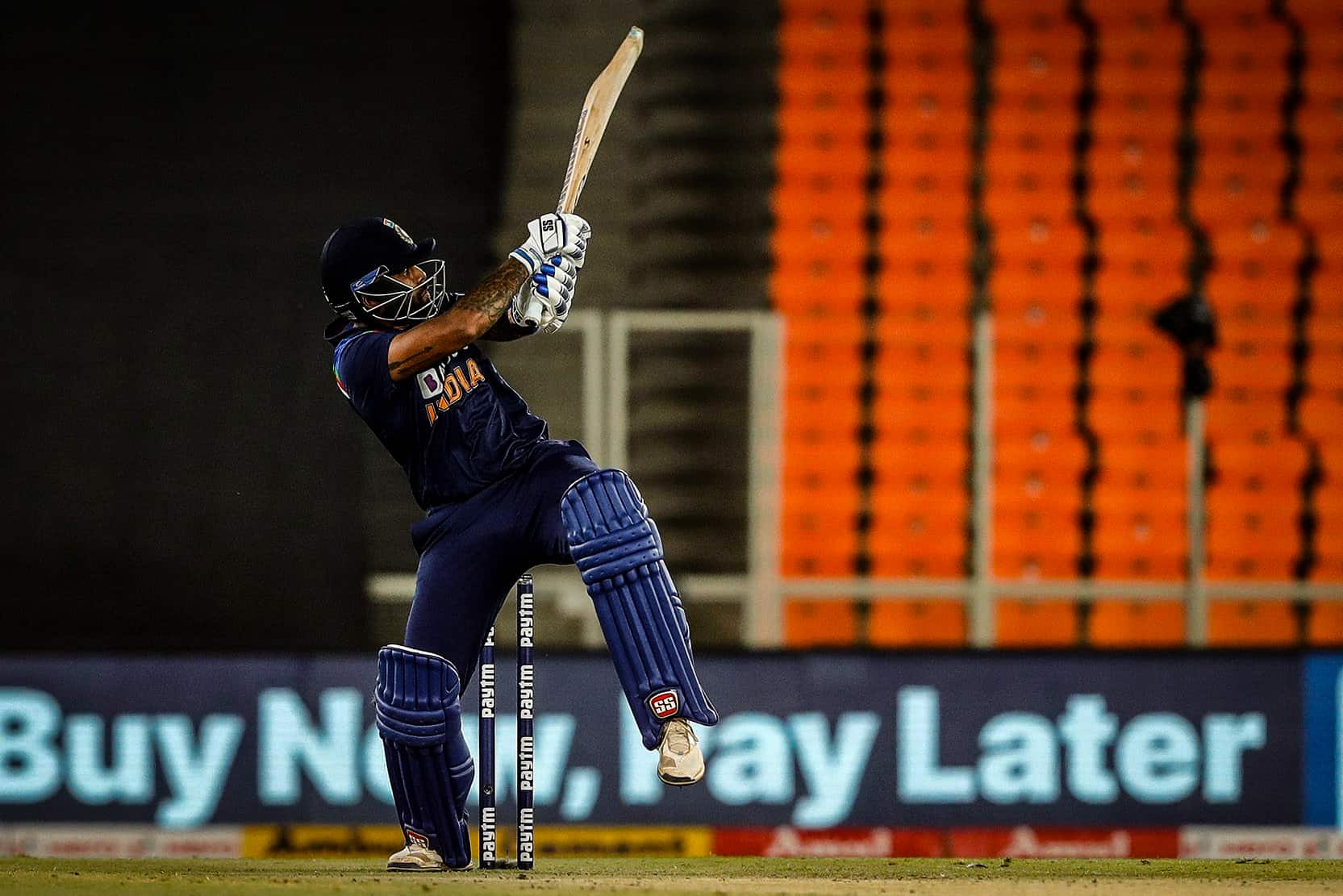 Suryakumar Yadav Becomes First Indian to Slam Six on First Ball of T20I Career