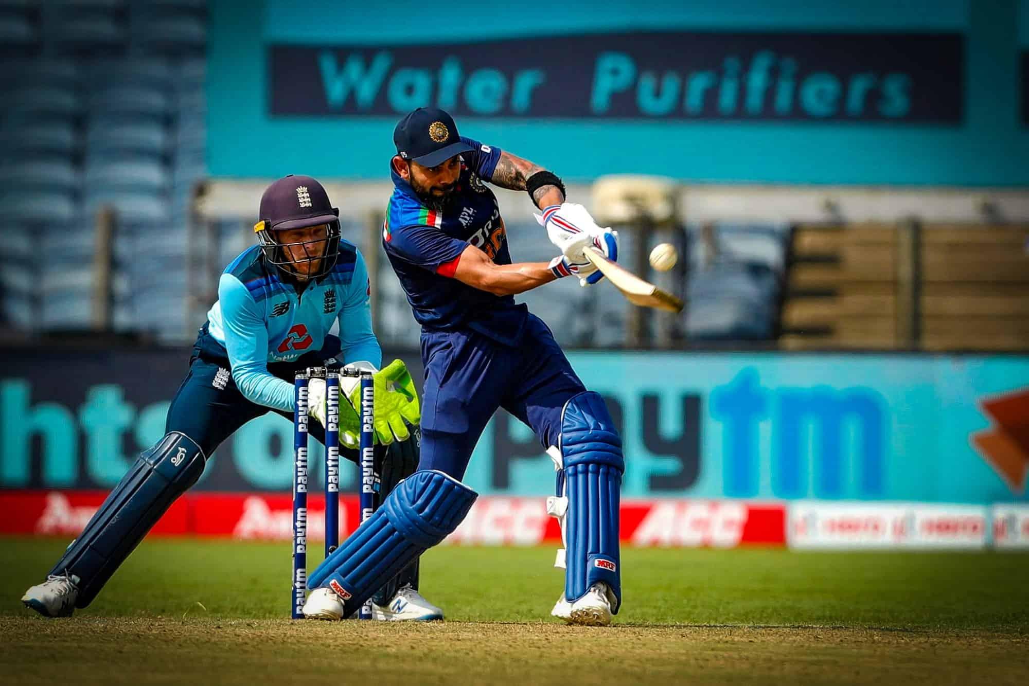 Virat Kohli Completes 10,000 Runs While Batting At Number 3