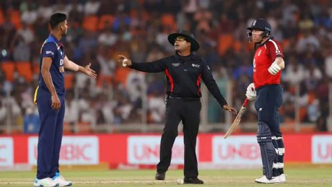 Watch Video: Washington Sundar Engage in Ugly Spat With Jonny Bairstow During First T20I