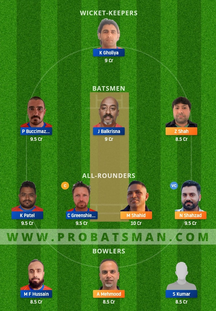 MAL vs OEI Dream11 Fantasy Team Prediction