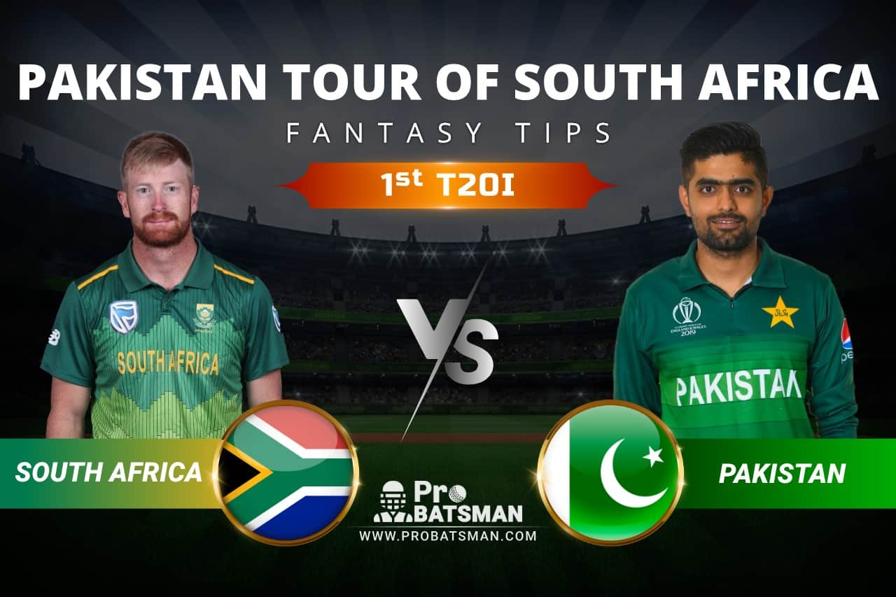 SA vs PAK Dream11 Prediction: South Africa vs Pakistan 1st T20I Playing XI, Pitch Report, Injury & Match Updates – Pakistan Tour of South Africa 2021