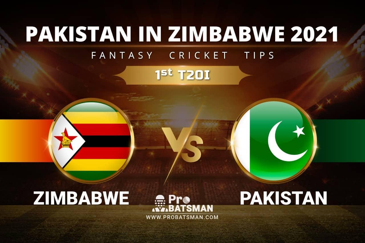 ZIM vs PAK Dream11 Prediction: Zimbabwe vs Pakistan 1st T20I Playing XI, Pitch Report, Player Records, Injury & Match Updates – Pakistan Tour of Zimbabwe 2021