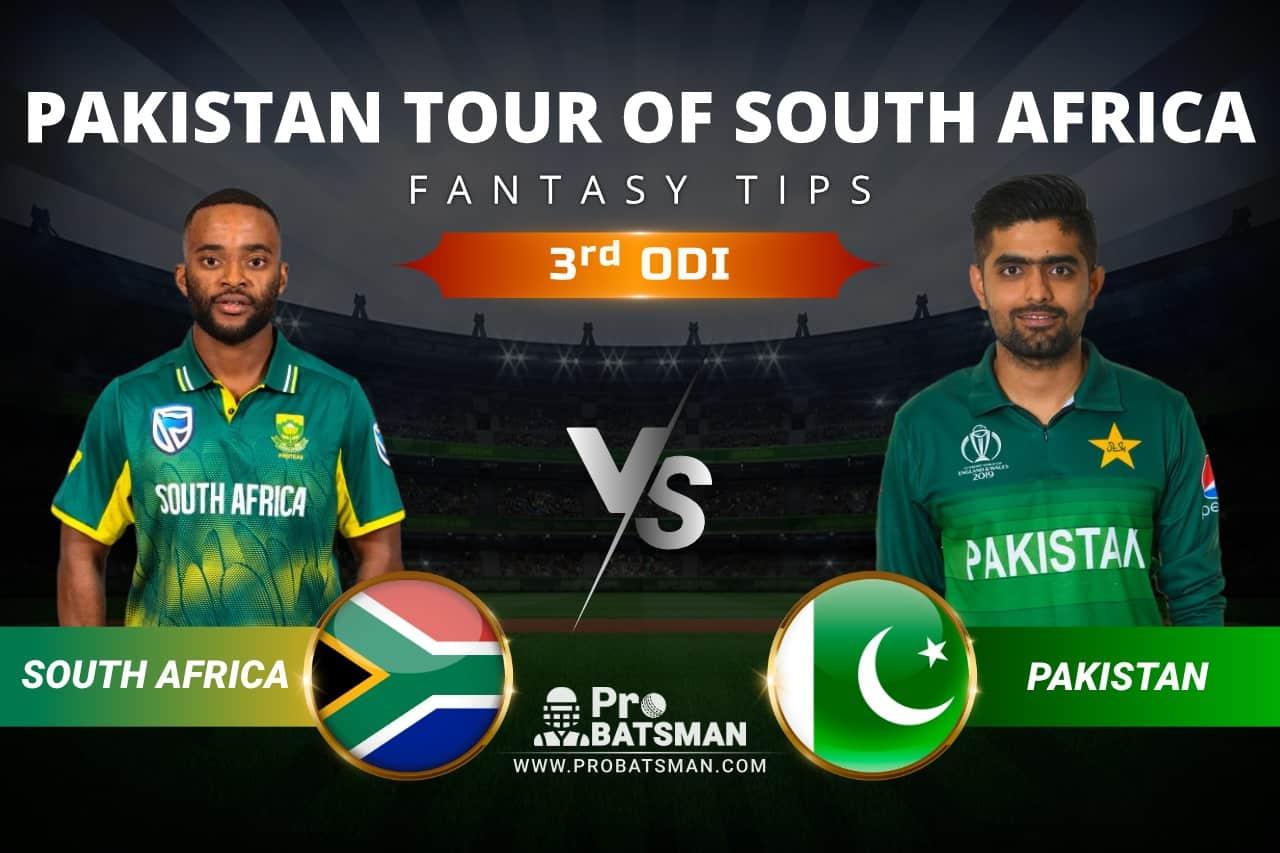 SA vs PAK Dream11 Prediction: South Africa vs Pakistan 3rd ODI Playing XI, Pitch Report, Injury & Match Updates – Pakistan Tour of South Africa 2021