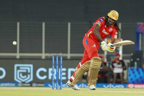 Watch: Chris Gayle Smashes Kyle Jamieson For 5 Fours In One Over
