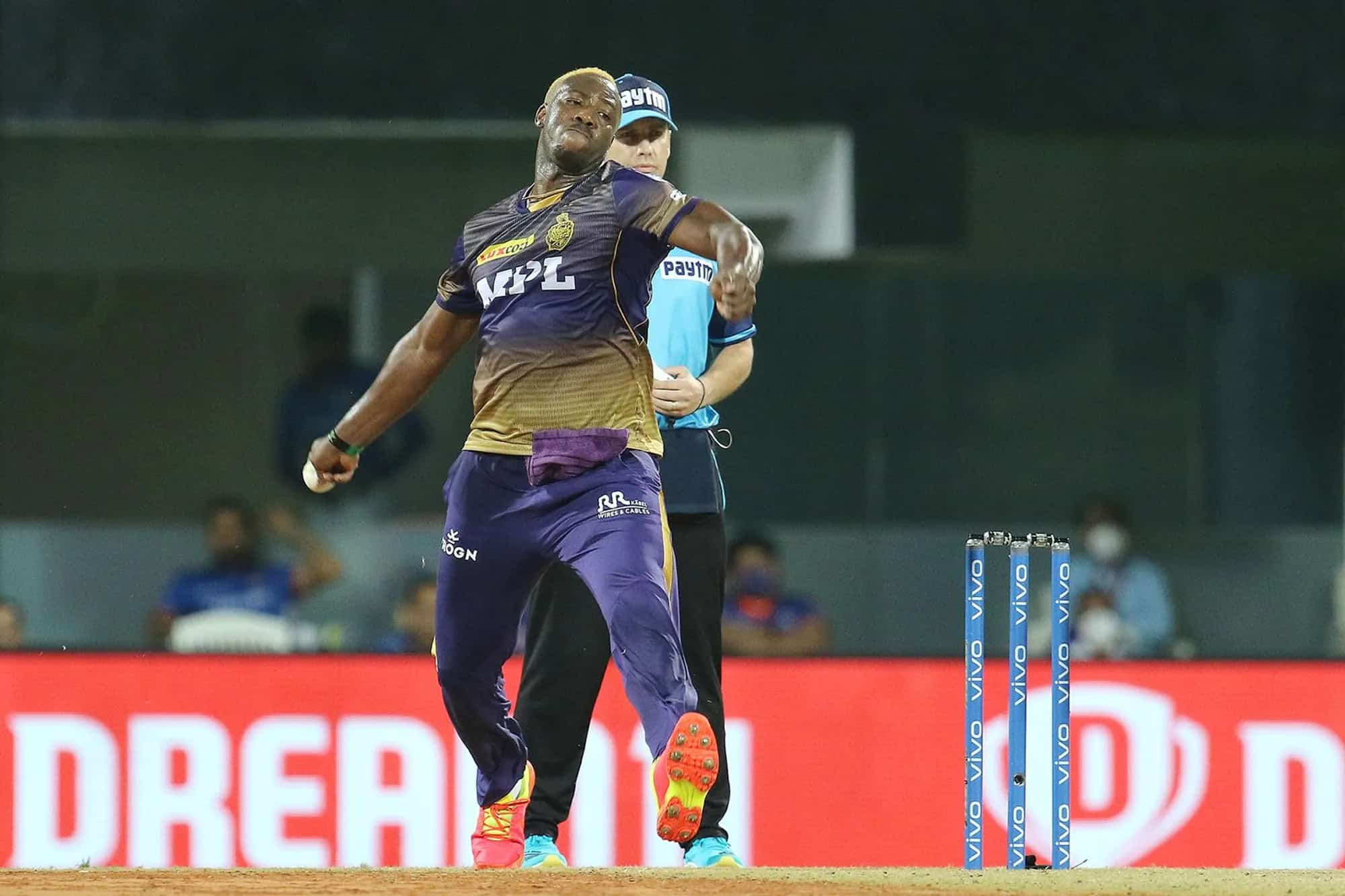 KKR vs MI: Andre Russell - First Bowler to Take 5 Wickets in 2 Over