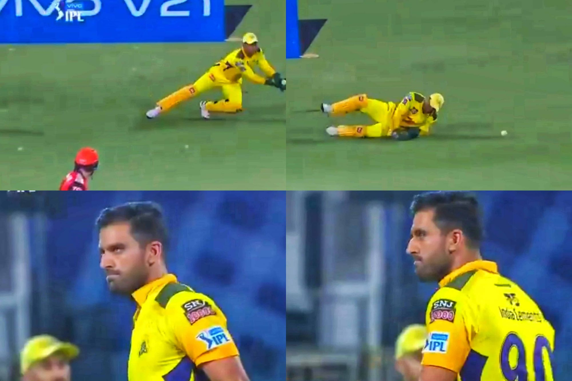 Watch: Deepak Chahar Gets Angry After MS Dhoni Drops Easy Catch Of Jonny Bairstow