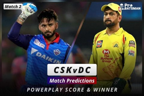 IPL 2021: DC vs CSK – Match 2, Match Prediction – Who Will Win Today's Match?