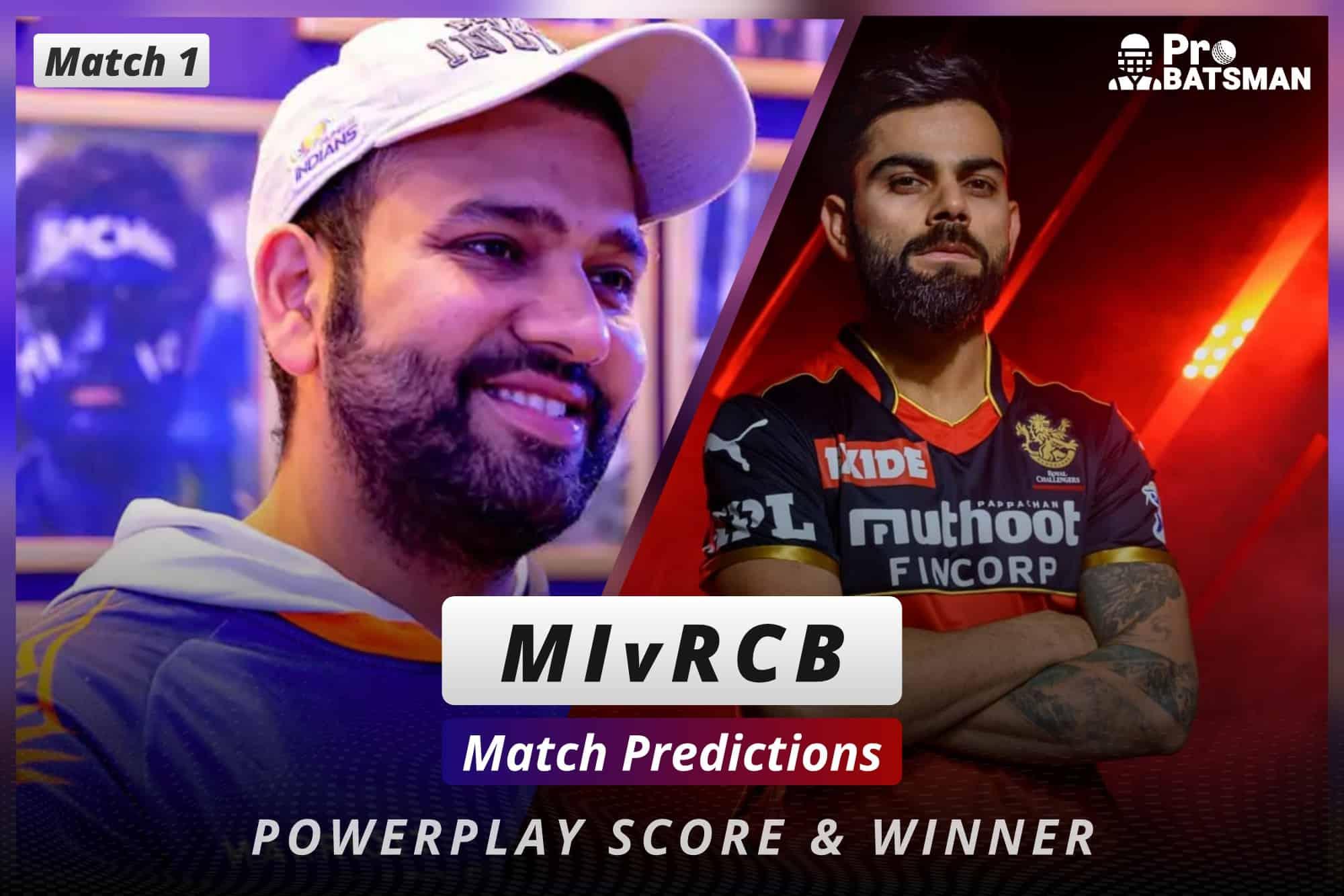 IPL 2021: MI vs RCB - Match 1, Match Prediction – Who Will Win Today's Match?