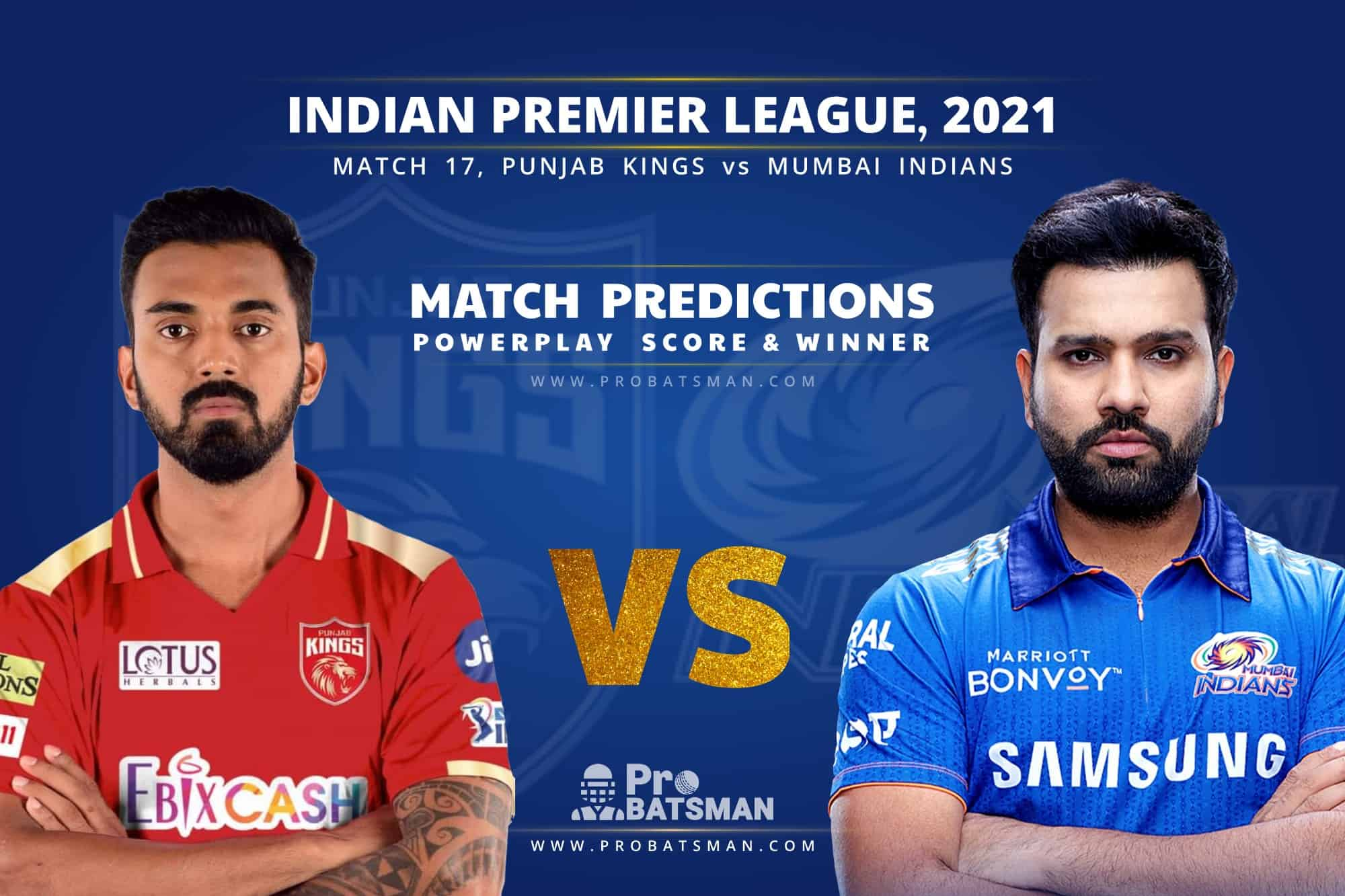 IPL 2021: PBKS vs MI – Match 17, Match Prediction – Who Will Win Today's Match?