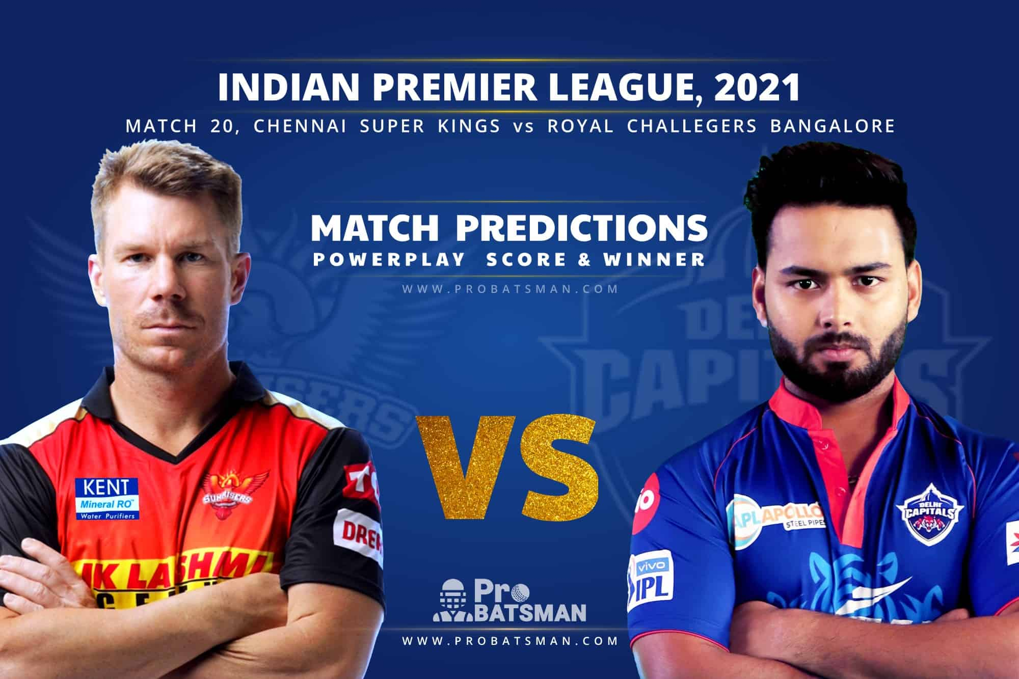 IPL 2021: SRH vs DC – Match 20, Match Prediction – Who Will Win Today's Match?
