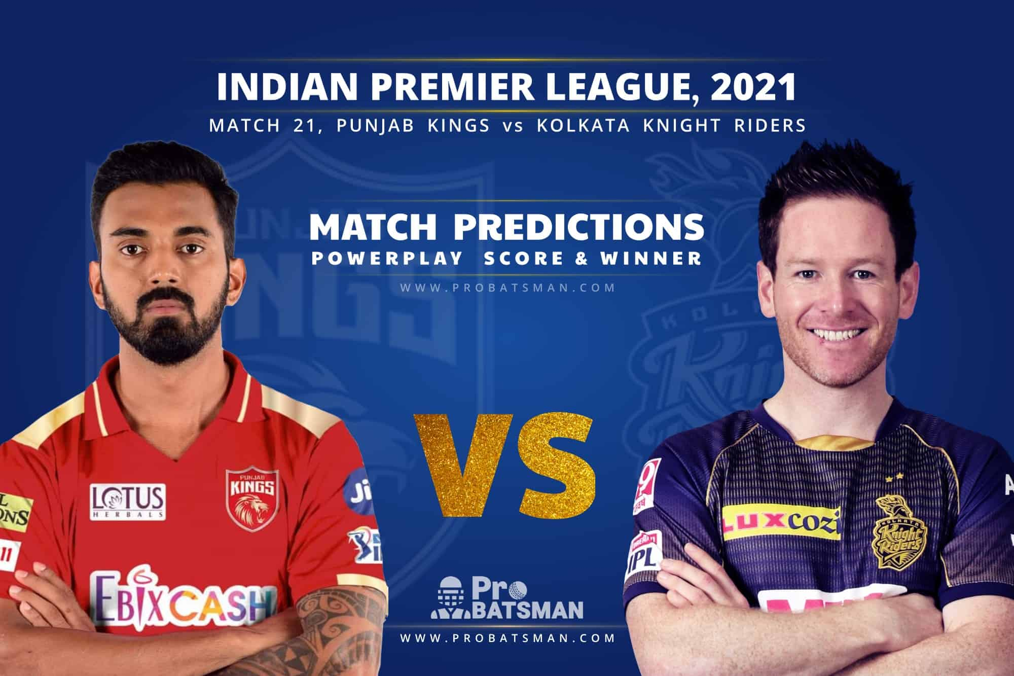 IPL 2021: PBKS vs KKR – Match 21, Match Prediction – Who Will Win Today's Match?