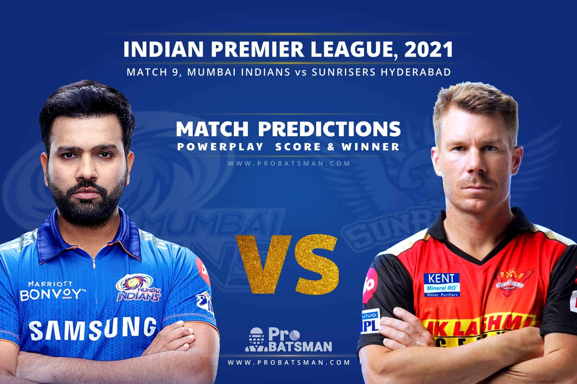 IPL 2021: MI vs SRH – Match 9, Match Prediction – Who Will Win Today's Match?
