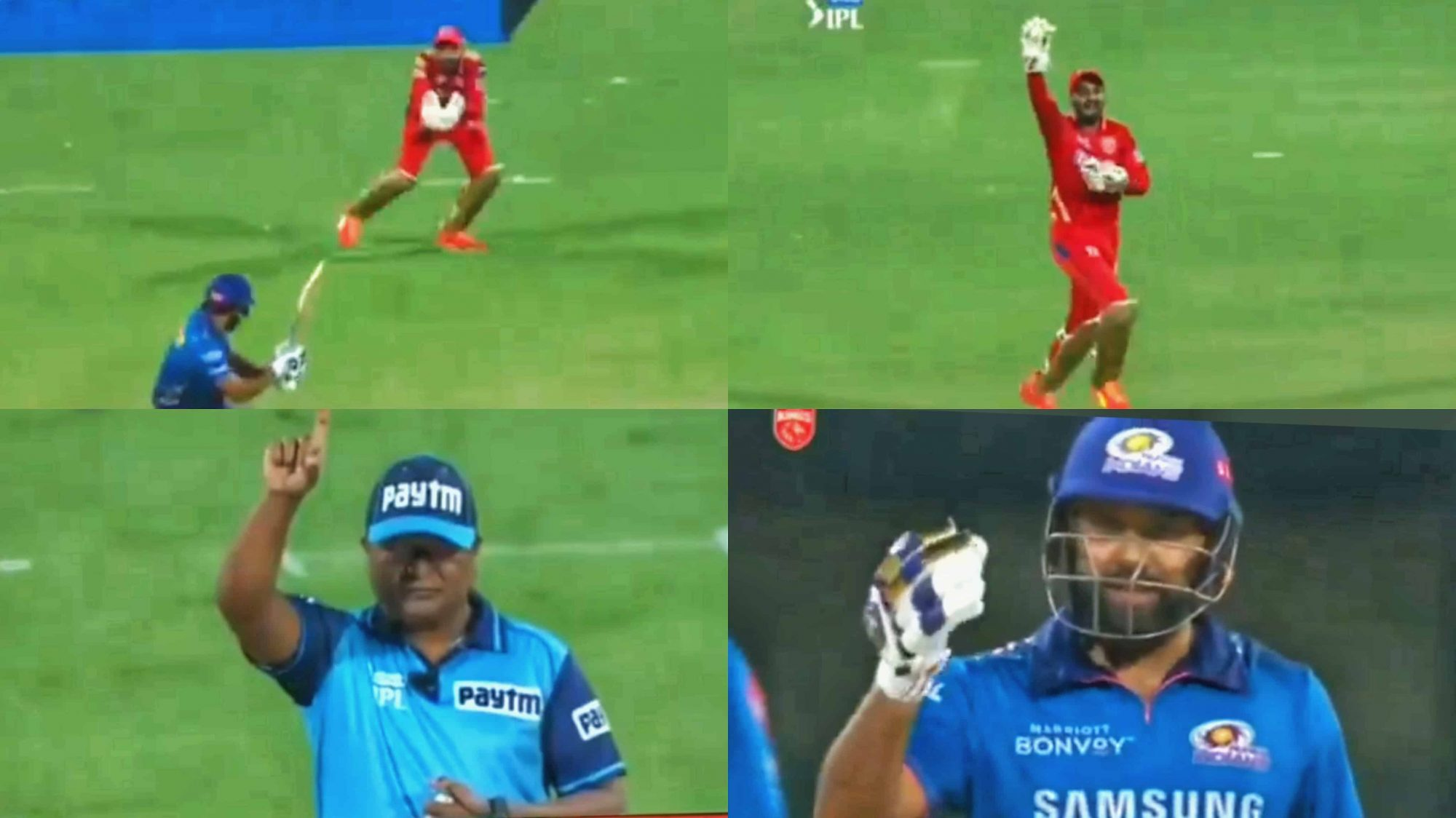 """""""Gaali Diya Naa?"""" - Twitterati Reacts Humorously As Rohit Sharma Slammed On-Field Umpire After His Wrong Decision Against Him"""