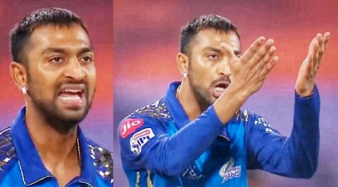 """Tere Me Kis Bat Ka Attitude Hai Bhai?"" - Twitterati Slams Krunal Pandya For His Over Aggressive Reactions On The Field"