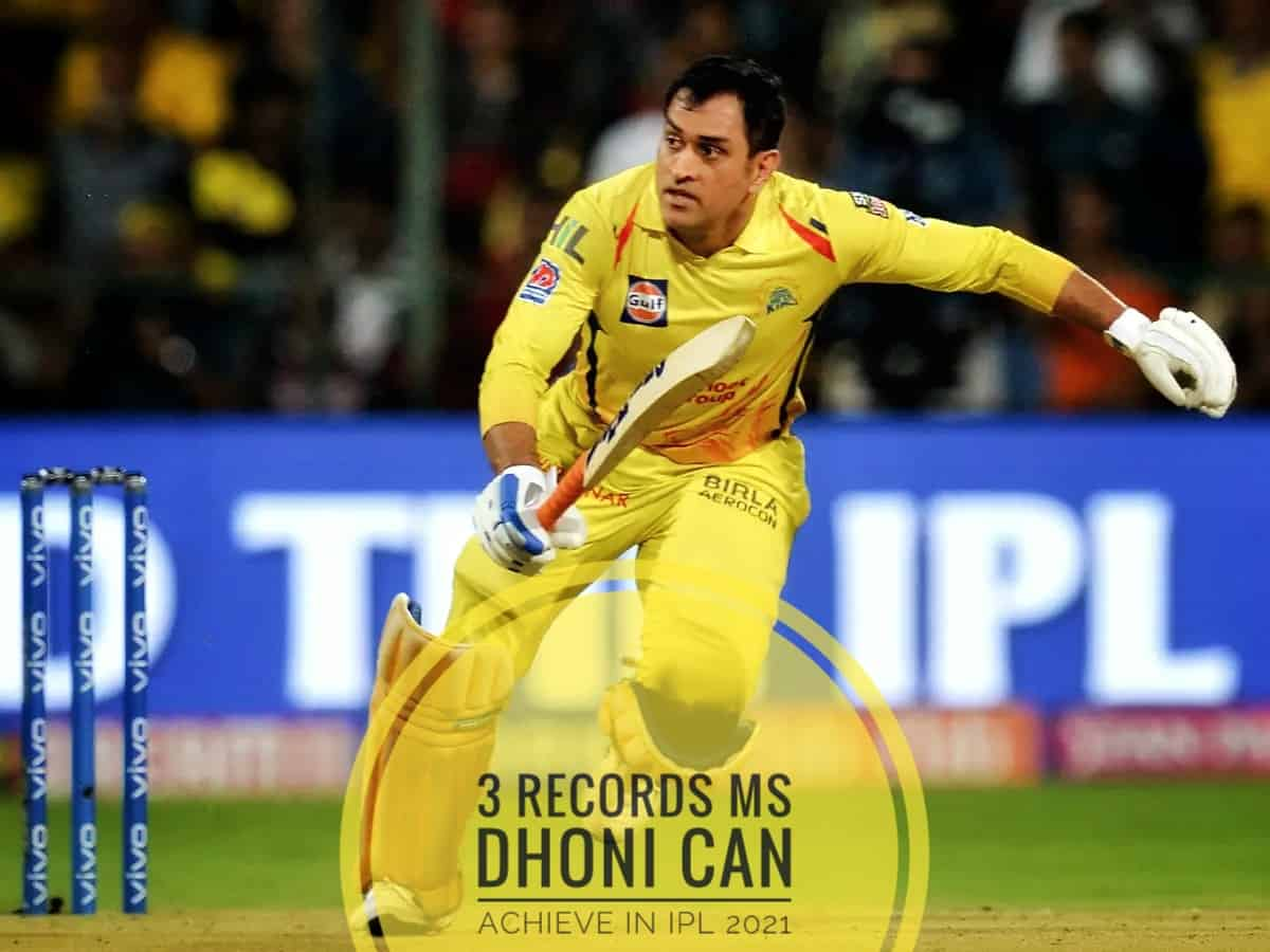 Three Major Records CSK Captain MS Dhoni Can Achieve in IPL 2021