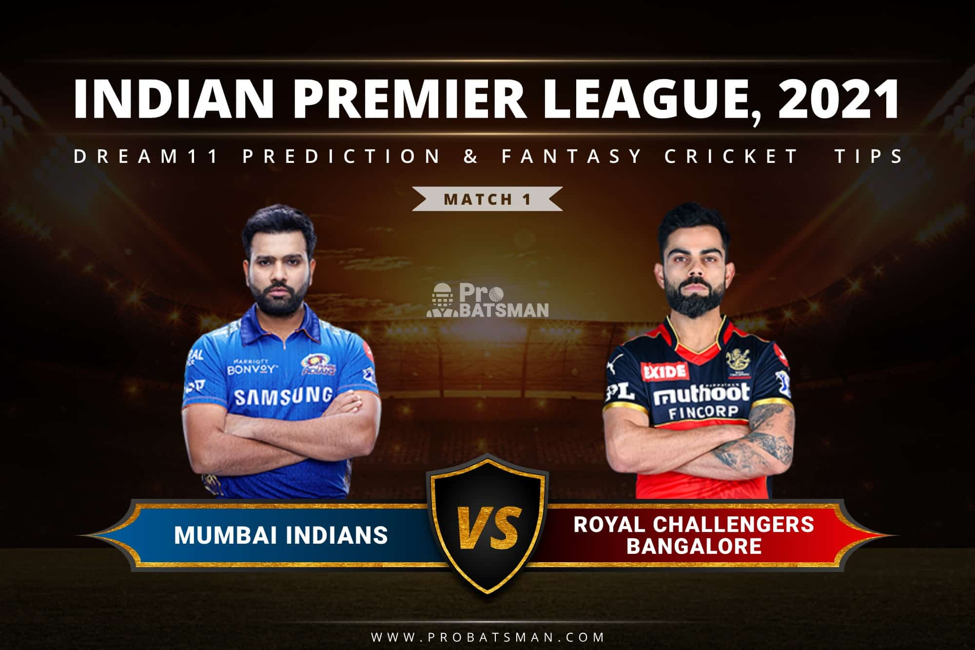 MI vs RCB Dream11 Prediction: Fantasy Cricket Tips, Playing XI, Pitch Report, Stats, Match & Injury Updates, Indian Premier League (IPL) 2021