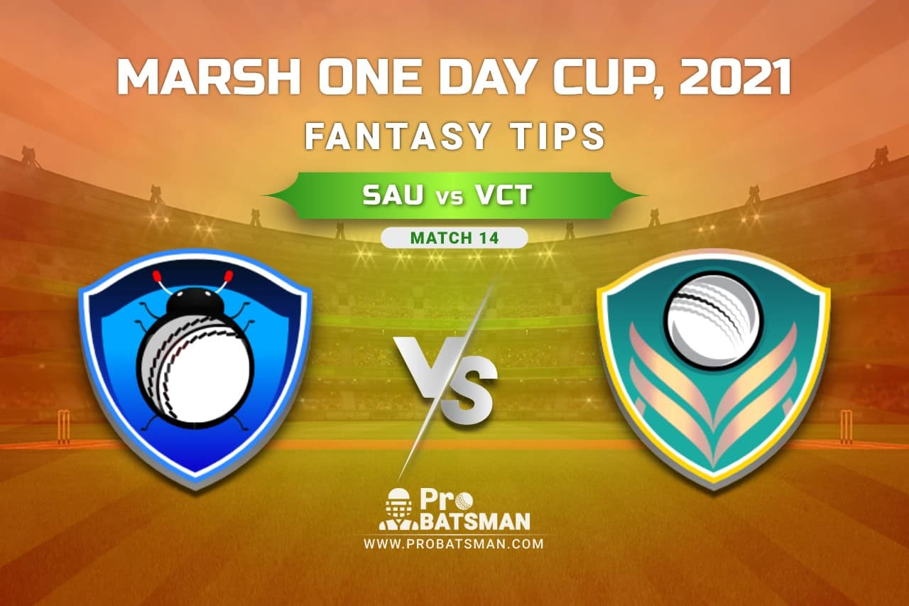 SAU vs VCT Dream11 Prediction, Fantasy Cricket Tips: Playing XI, Weather, Pitch Report, Injury Update – Marsh One Day Cup 2021, Match 14
