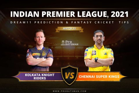 KKR vs CSK Dream11 Prediction: Fantasy Cricket Tips, Playing XI, Pitch Report, Stats & Injury Updates of Match 15, IPL 2021