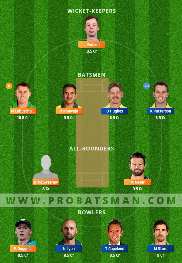 QUN vs NSW Dream11 Fantasy Team Prediction