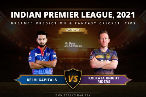 DC vs KKR Dream11 Prediction: Fantasy Cricket Tips, Playing XI, Pitch Report, Stats & Injury Updates of Match 25, IPL 2021