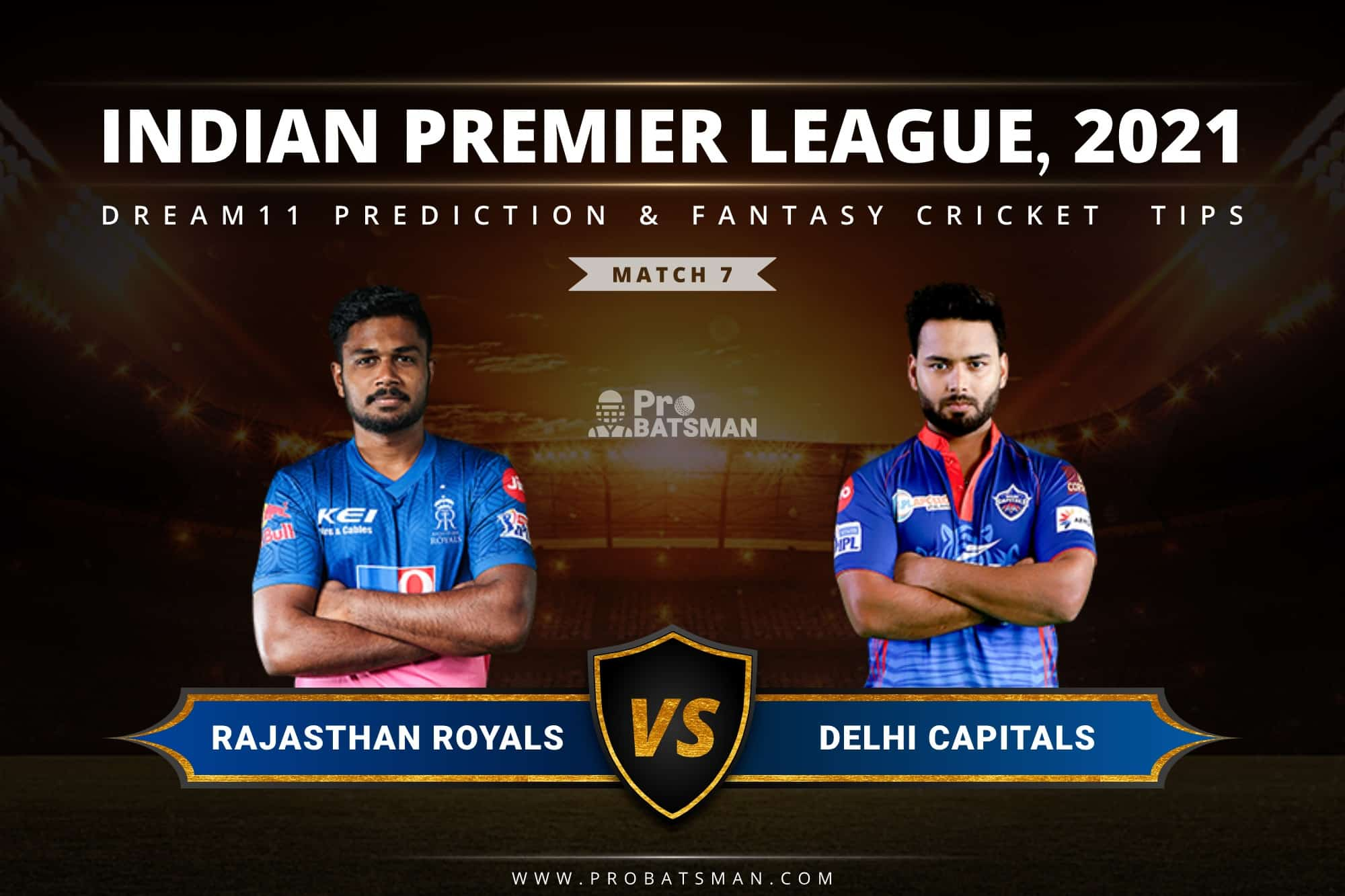 RR vs DC Dream11 Prediction: Fantasy Cricket Tips, Playing XI, Pitch Report, Stats & Injury Updates of Match 7, IPL 2021