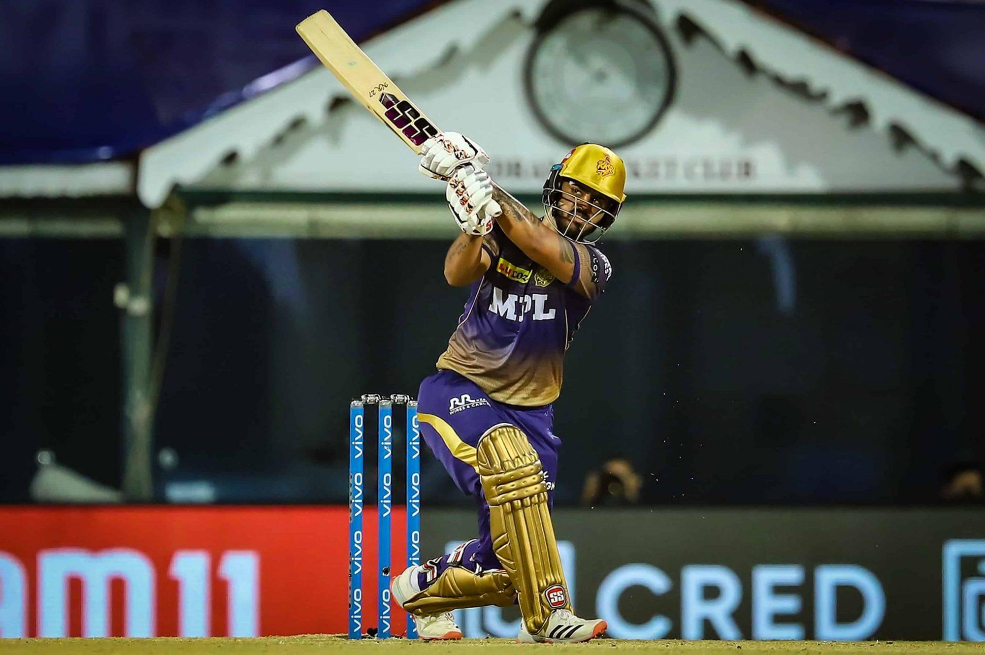 SRH vs KKR: Nitish Rana Slams His 12th IPL Fifty