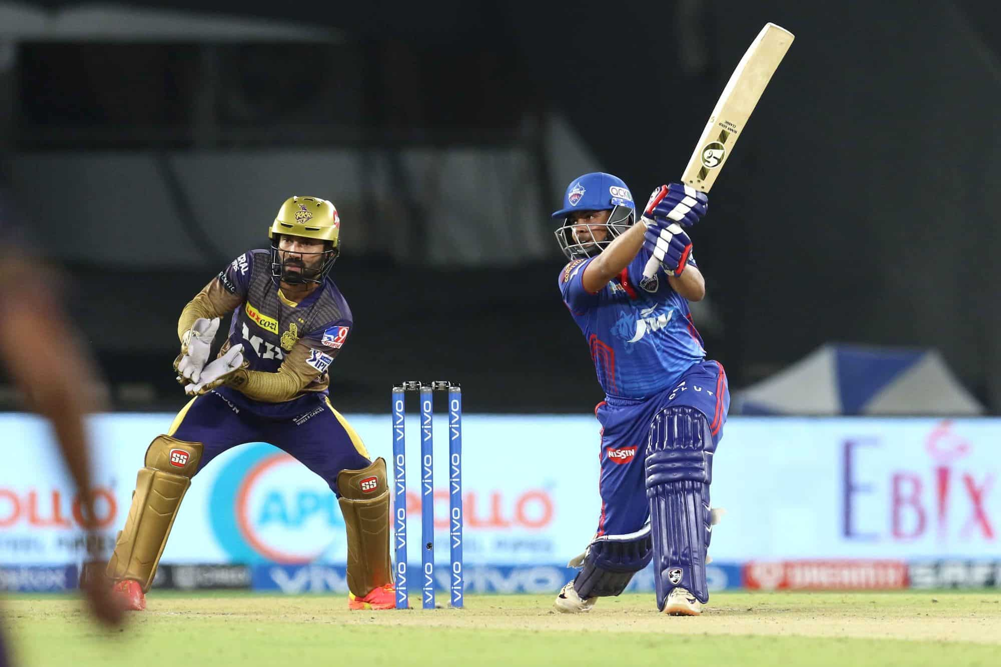 Prithvi Shaw Smashes The Fastest Fifty Of The IPL 2021 - DC vs KKR
