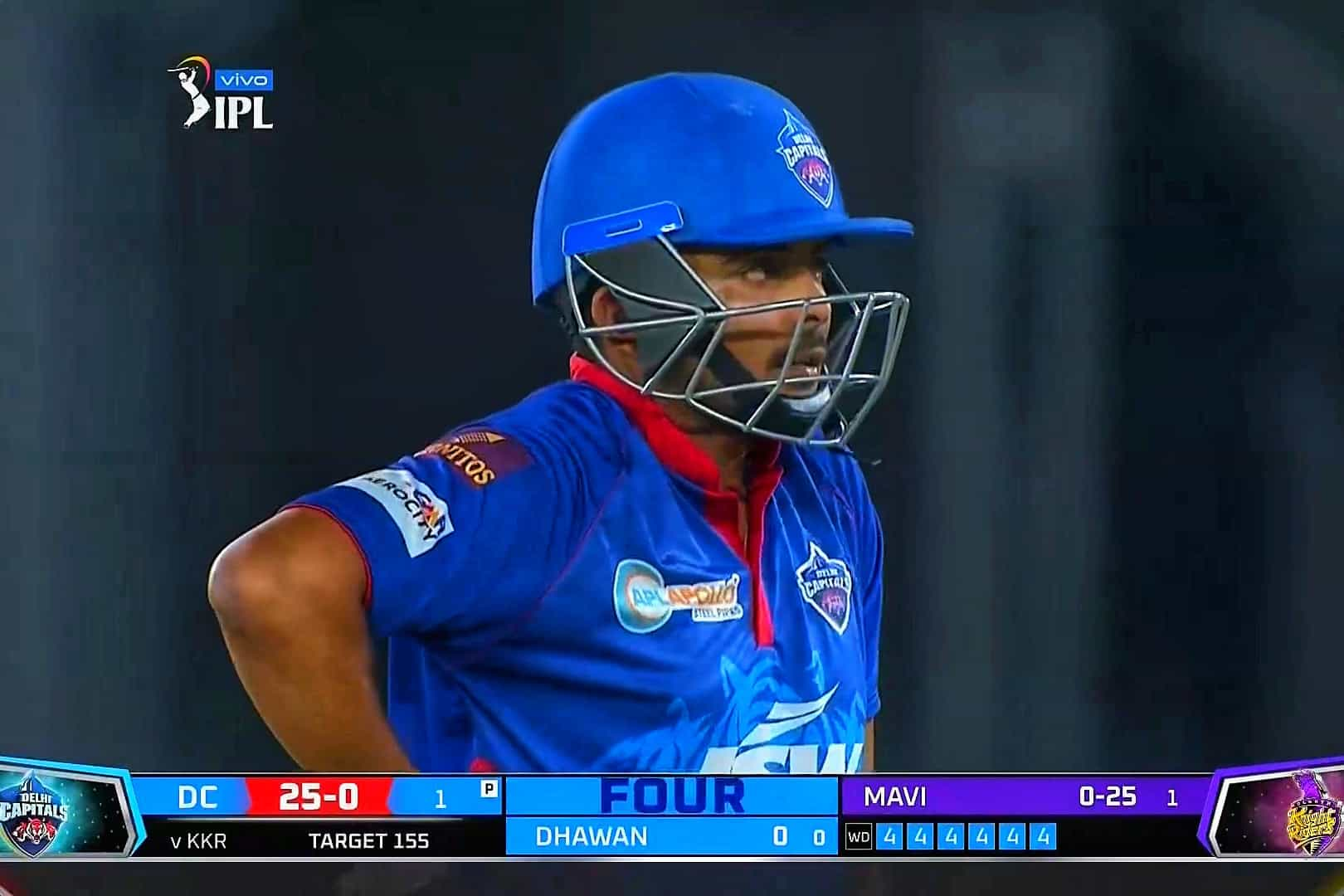Watch: Prithvi Shaw Smashes 6 Fours In An Over In DC vs KKR - Match 25