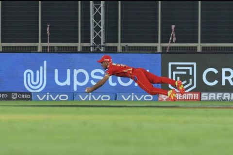 Catch Of The Tournament: Kevin Pietersen Reacts As Ravi Bishnoi Plucks A Stunning Catch To Get Rid Of Sunil Narine