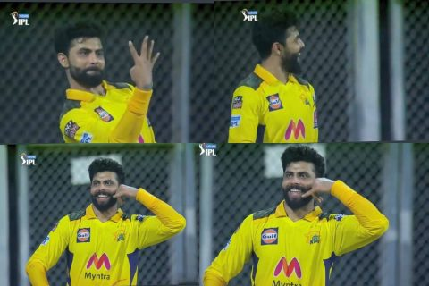 Watch: Ravindra Jadeja's Special Celebration After Taking 4 Catches Goes Viral