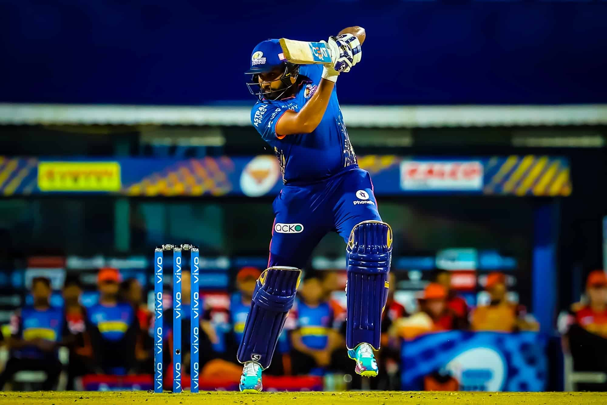 MI vs SRH: Rohit Sharma Surpasses MS Dhoni To Claim Most Sixes In IPL Among Indians