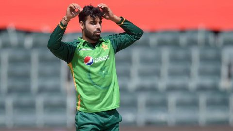 Shadab Khan Ruled Out Of South Africa And Zimbabwe Tour Due To Toe Injury