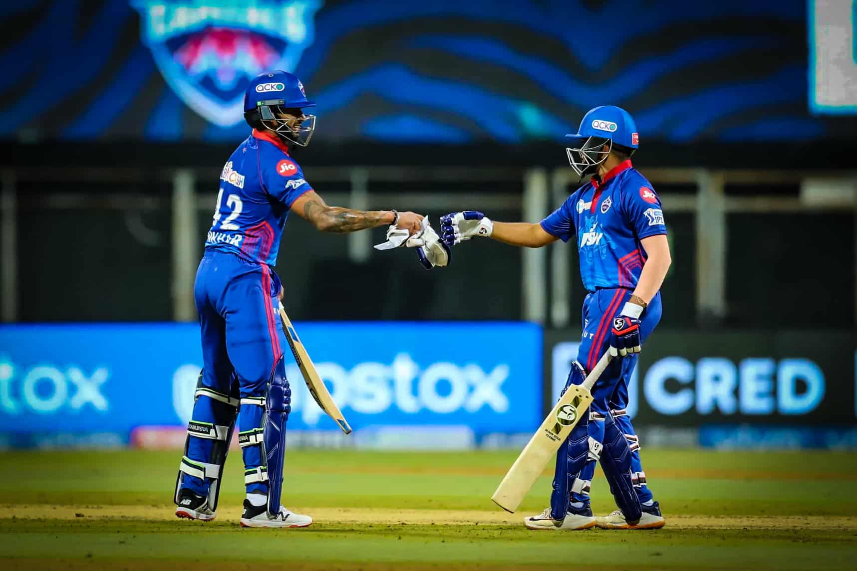 Dhawan & Shaw Registers Second Best Opening Stand Against CSK
