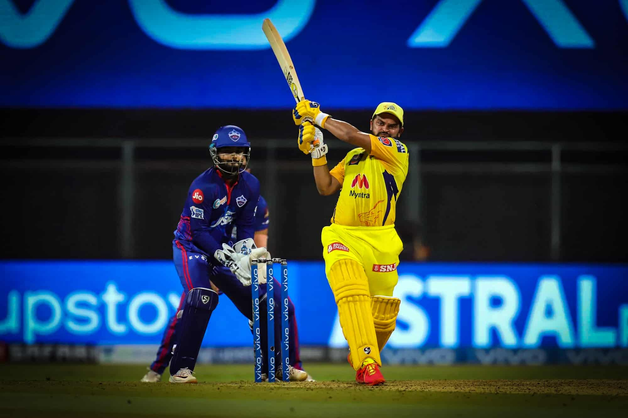 IPL 2021, CSK vs DC - Match 2: Suresh Raina Slams 39th IPL Fifty