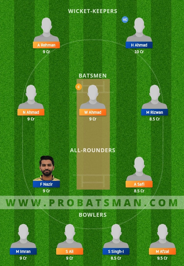 JAB vs JIB Dream11 Fantasy Team Prediction