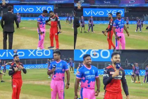 Watch: Virat Kohli Couldn't Believe That He Won The Toss And Send Sanju Samson To Talk