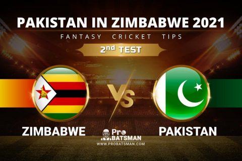 ZIM vs PAK Dream11 Prediction: Zimbabwe vs Pakistan 2nd Test Playing XI, Pitch Report, Player Records & Match Updates – Pakistan Tour of Zimbabwe 2021