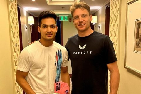 Watch Video: After Yashasvi Jaiswal, Jos Buttler Gives A Special Gift To Anuj Rawat
