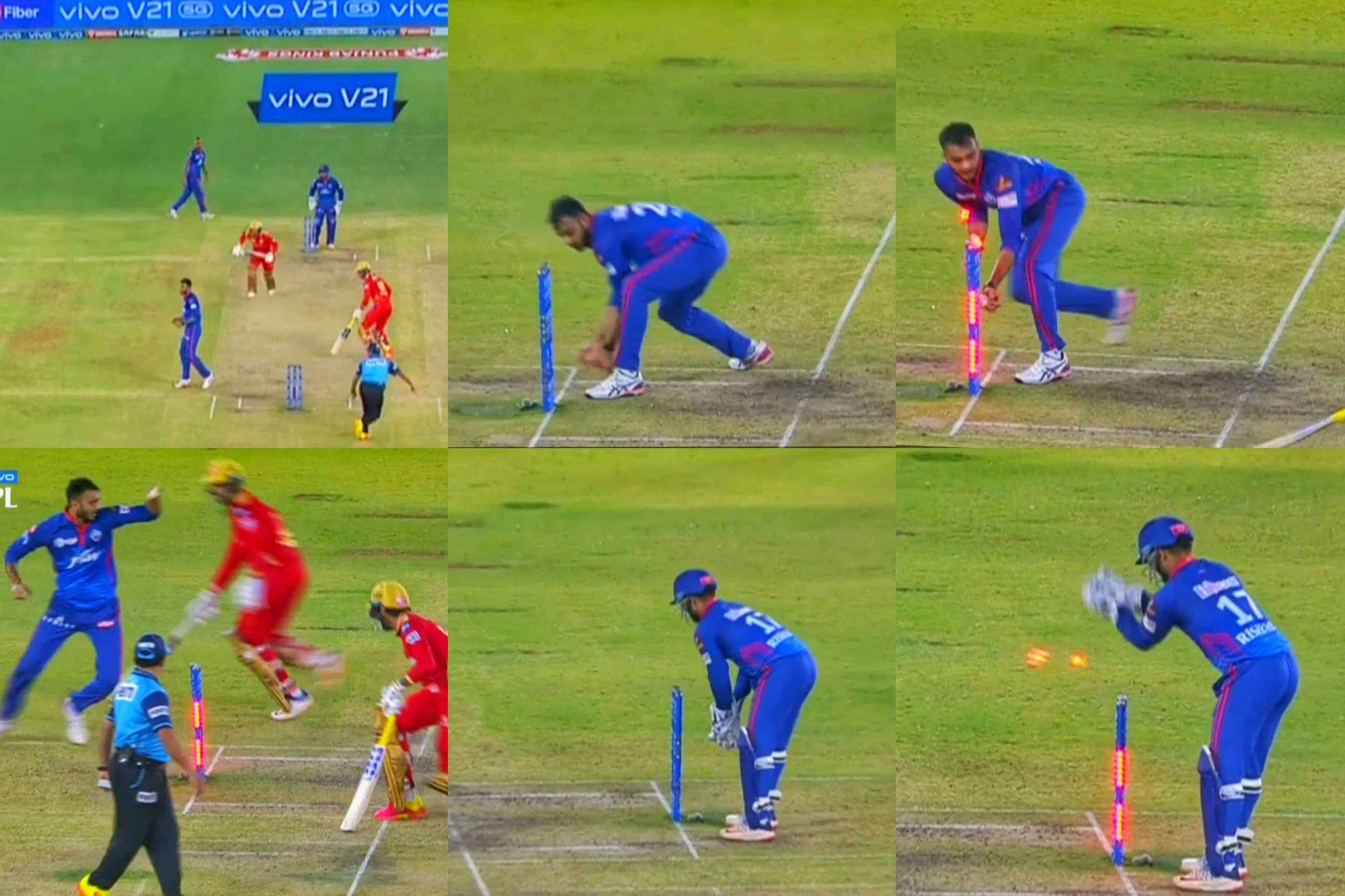 Watch: The Most Bizzare And Funny Run Out Of IPL 2021