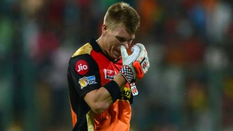 """""""Black Day Of Indian Premier League"""": Twitterati Reacts As David Warner Dropped From SRH Playing XI"""