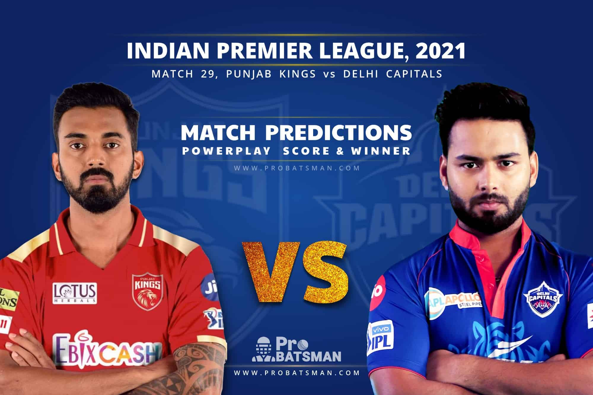 IPL 2021: PBKS vs DC – Match 29, Match Prediction – Who Will Win Today's Match?