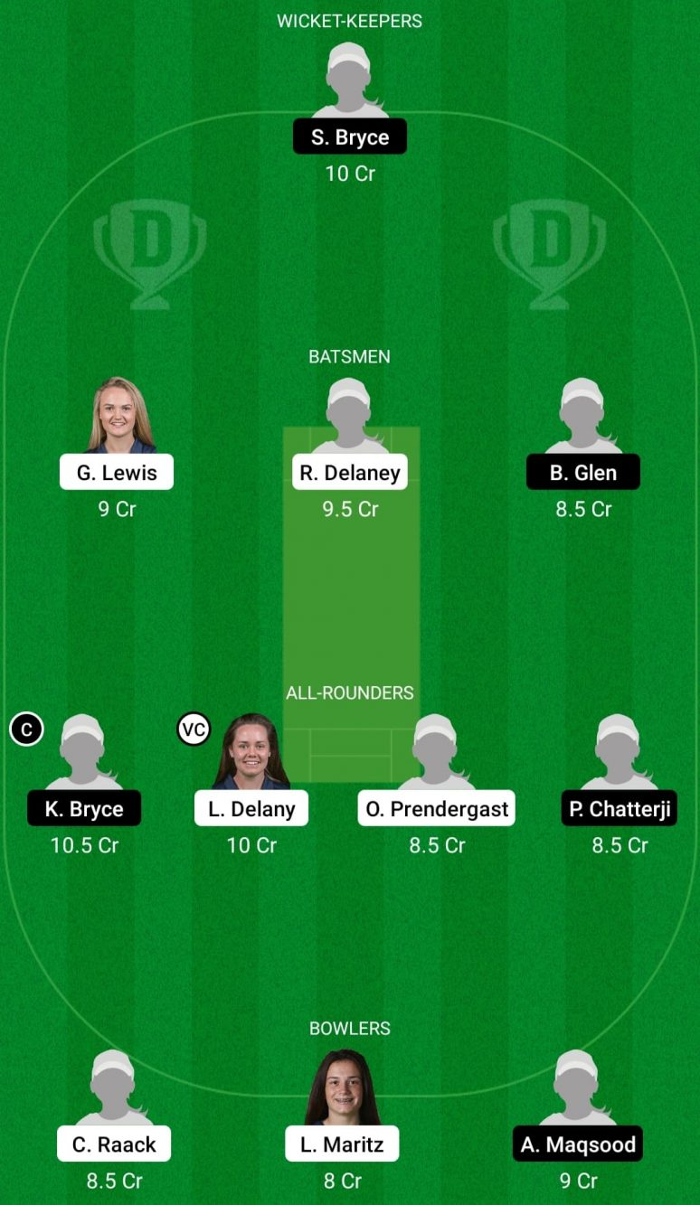 IR-W vs SC-W 1st T20I Dream11 Prediction, Fantasy Cricket Tips: Playing XI, Pitch Report & Player Record of Scotland Women Tour of Ireland