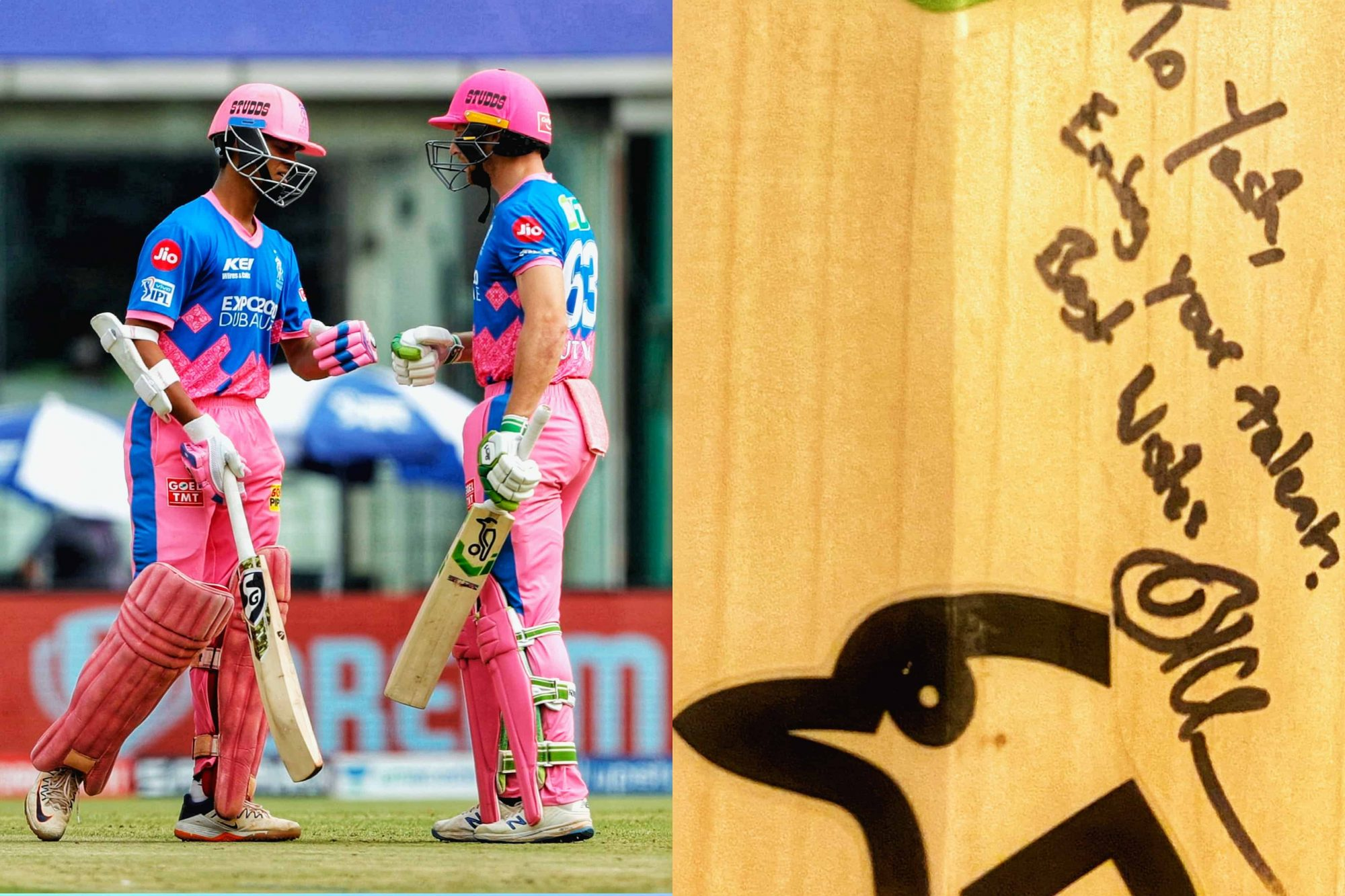 Yashasvi Jaiswal Gets 'A Special Gift' From Jos Buttler